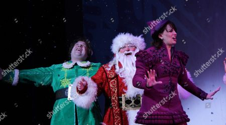 Editorial photo of 'Elf The Musical' returns to Broadway, New York, America - 09 Nov 2012