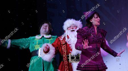 Stock Photo of Jordan Gelber, Wayne Knight, Beth Leavel