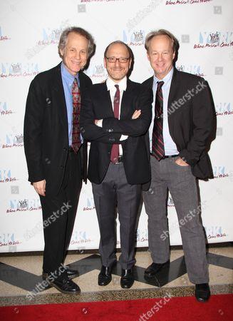 Stock Photo of Jim Walton, Lonny Price, Bob Walton