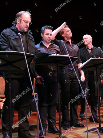 Alexander Gemignani, Mario Cantone, Neil Patrick Harris, Michael Cerveris