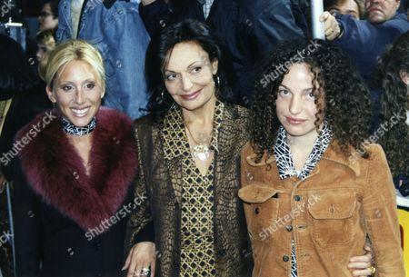 Alexandra Von Furstenberg, Diane von Furstenberg and Tatiana Von Furstenberg