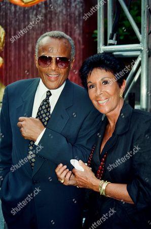 Harry Belafonte and Julie Robinson
