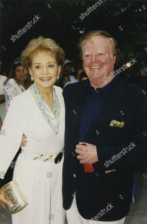 Barbara Walters and Roone Arledge