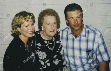 Kim Basinger, Carol M Baldwin and Alec Baldwin