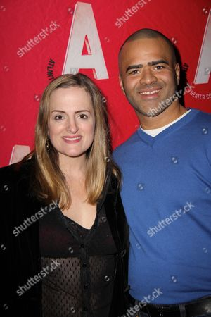 Stock Image of Keira Naughton, Christopher Jackson