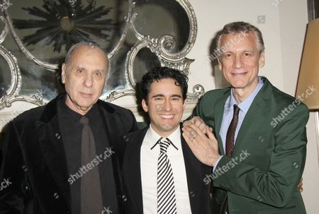 Stock Picture of Marshall Brickman, John Lloyd Young, Rick Elice