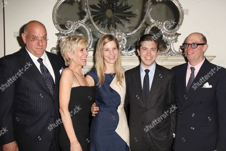 Stock Image of Guest, Gabriel Ferrer, Debby Boone, Guest and Guest