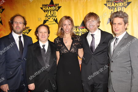 Editorial picture of 'Hands on a Hard Body' opening night, New York, America - 21 Mar 2013