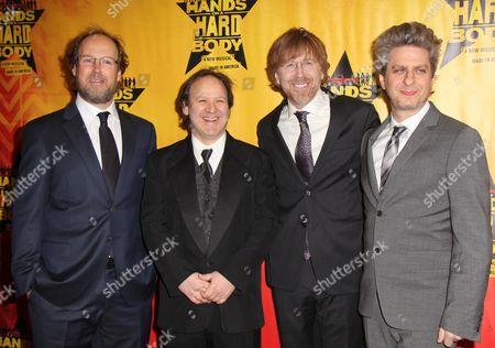 Stock Photo of Page McConnell, Jon Fishman, Trey Anastasio, Mike Gordon