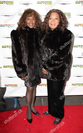 Editorial picture of Motown Family Night at Motown: the Musical, New York, America - 05 Apr 2013