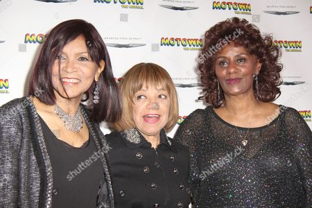 Redaktionellt foto på Motown Family Night at Motown: the Musical, New York, America - 05 Apr 2013