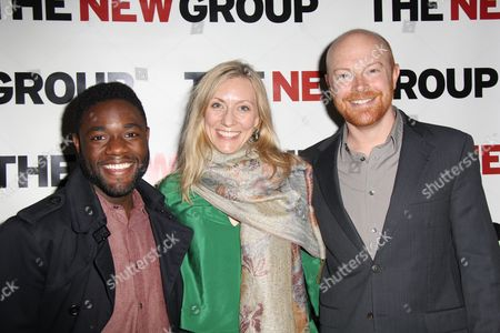 Editorial photo of 'Bunty Berman Presents' musical play opening night, New York, America - 09 May 2013