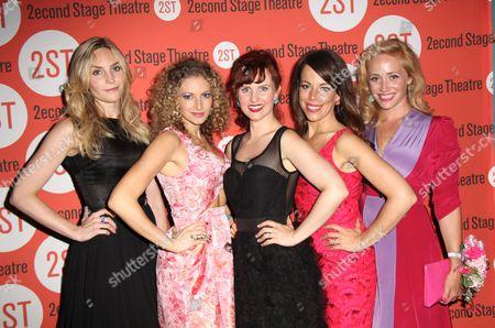 Stock Image of Aleque Reid, Lauren Moina, Autumn Hurlbert, Leslie Kritzer, Haven Burton