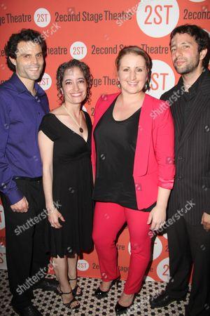 Gaby Alter, Michelle Tattenbaum, Mandy Moore, Itamar Moses