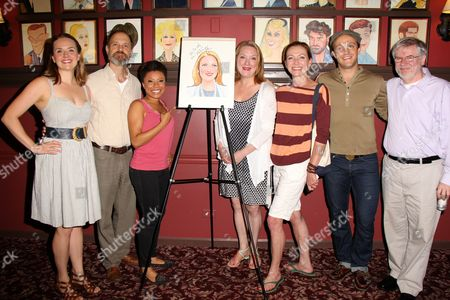 Stock Photo of Liesel Allen Yeager, David Hyde Pierce, Shalita Grant, Kristine Nielsen, Julie White, Guest and Guest