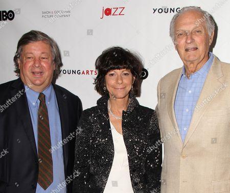 Kirk Simon, Karen Goodman, Alan Alda