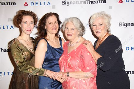 Stock Picture of Veanne Cox, Hallie Foote, Lois Smith, Betty Buckley