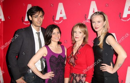 Editorial image of 'Women or Nothing' play opening night, New York, America - 16 Sep 2013
