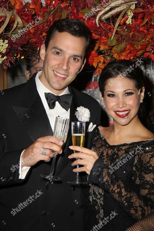 Ryan Silverman and Bianca Marroquin