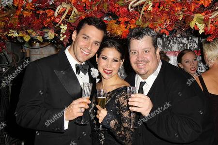 Ryan Silverman, Bianca Marroquin and Paul C Bogt