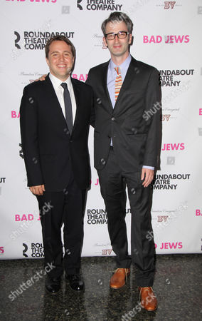 Editorial picture of 'Bad Jews' play Opening Night, New York, America - 03 Oct 2013
