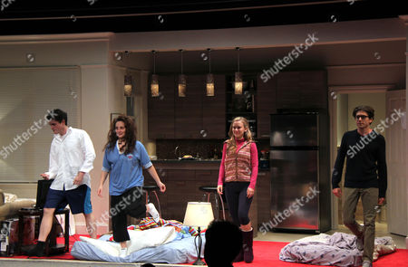 Editorial photo of 'Bad Jews' play Opening Night, New York, America - 03 Oct 2013