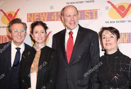 Editorial photo of The New 42nd Street Gala Honoring Michael D. Eisner, New York, America - 18 Nov 2013