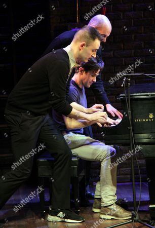 Composer Joe Kinosian, Brett Ryback, Jeff Blumenkrantz