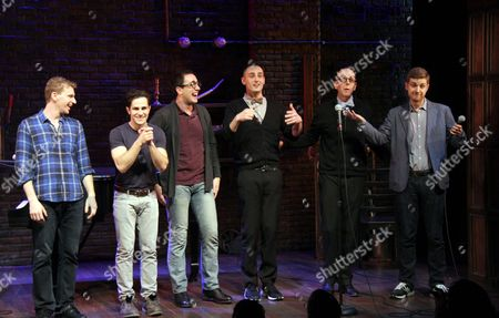 Stock Photo of Adam Overett, Brett Ryback, Jeremiah Ginn, Joe Kinosian, Jeff Bl