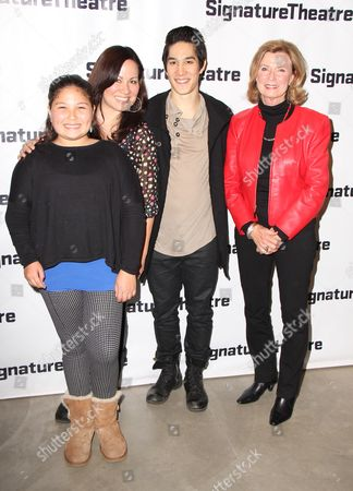 Editorial picture of 'Kung Fu' opening night, New York, America - 24 Feb 2014