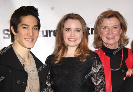 Stock Image of Cole Horibe, Phoebe Strole, Linda Lee