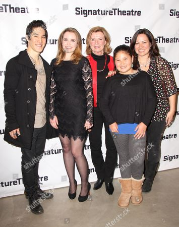 Stock Picture of Cole Horibe, Phoebe Strole, Linda Lee, Wren Keasler, Shannon Lee