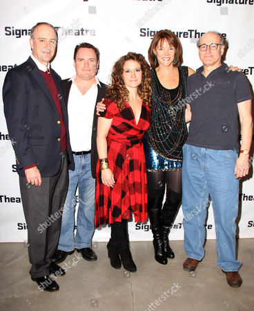 Michael Countryman, Danny McCarthy, Hannah Bos, Carolyn McCormick, Peter Friedman
