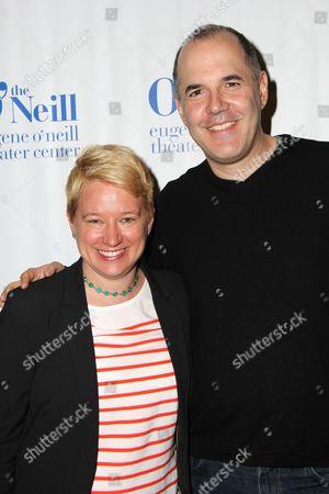Stock Photo of Wendy C. Goldberg and David Auburn