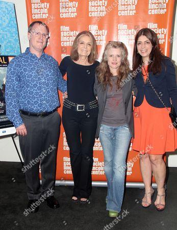 Stock Image of John Biaggi, Gloria Steinem, Cynthia Hill, Nancy Abraham