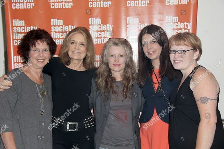 Stock Photo of Kit Gruelle, Gloria Steinem, Cynthia Hill, Nancy Abraham, Deanna Walters