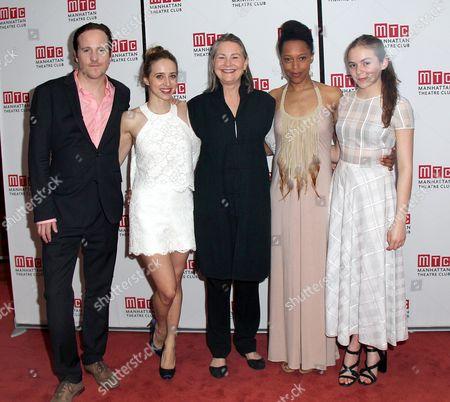 Stock Picture of Patch Darragh, Zoe Kazan, Cherry Jones, Cherise Boothe, Morgan Saylor