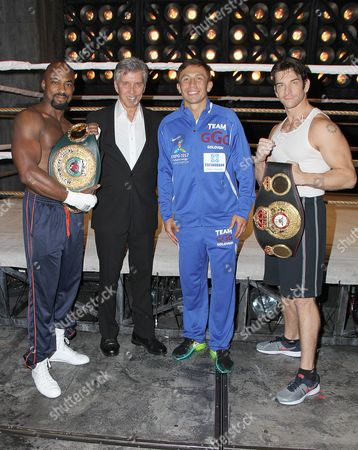 Terence Archie, Michael Buffer, Gennady Golovkin, Andy Karl