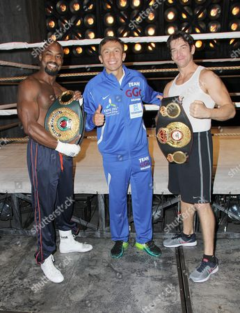 Terence Archie, Gennady Golovkin, Andy Karl
