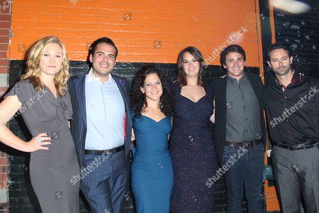 Julia Stiles, Nicholas Jabbour, Director Jennifer DeLia, Julie Pacino, Rian Patrick Durham, James Wirt