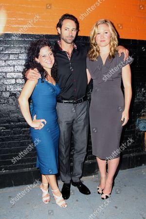 Editorial image of 'Phoenix' play opening night, Cherry Lane Theatre, New York, America - 07 Aug 2014