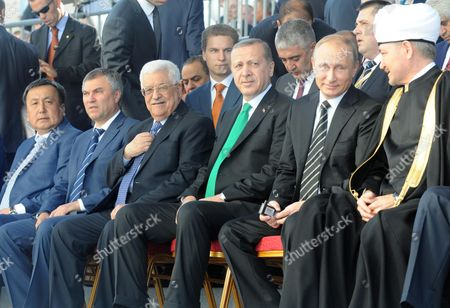 Editorial picture of Moscow Cathedral Mosque opening ceremony, Russia - 23 Sep 2015