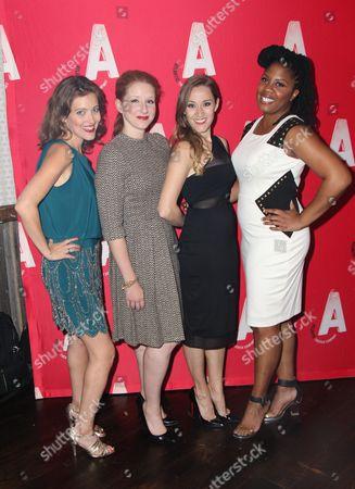 Editorial image of 'Found' Opening Night, New York, America - 14 Oct 2014
