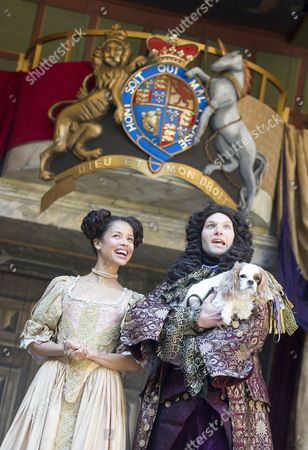 Editorial photo of 'Nell Gwynn' play performed at Shakespeare's Globe Theatre, London, Britain - 23 Sep 2015