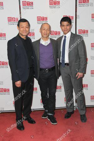 James Saito, Francis Jue, Telly Leung
