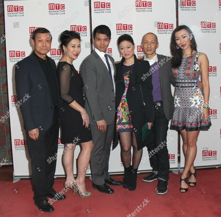 Editorial picture of 'The World of Extreme Happiness' play Opening Night, New York, America - 24 Feb 2015