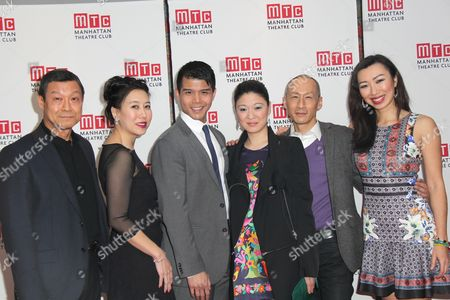 Editorial image of 'The World of Extreme Happiness' play Opening Night, New York, America - 24 Feb 2015