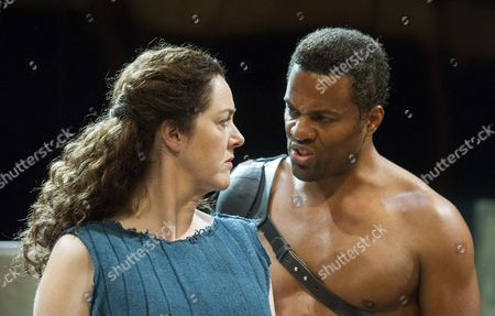 Editorial photo of 'Hecuba' play performed by the Royal Shakespeare Company at Stratford-upon-Avon, Britain - 23 Sep 2015