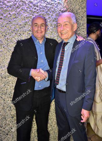 Johan Eliasch and Frank Field