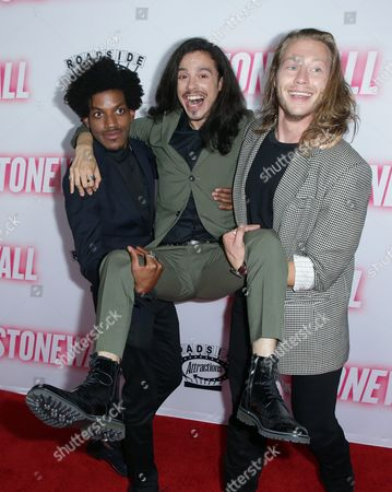 Editorial image of 'Stonewall' film premiere, Los Angeles, America - 23 Sep 2015